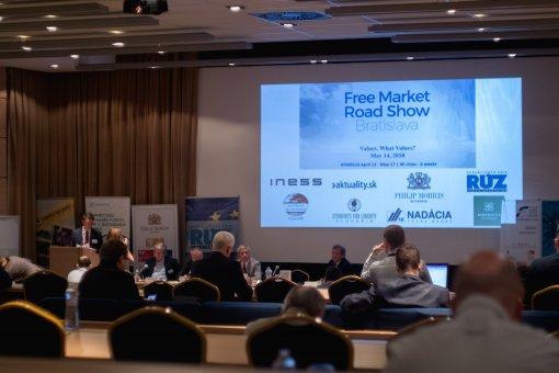 Free Market Road Show 2018 v Bratislave