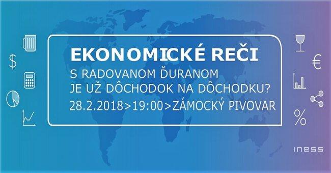 Pozvánka na Ekonomické reči #9