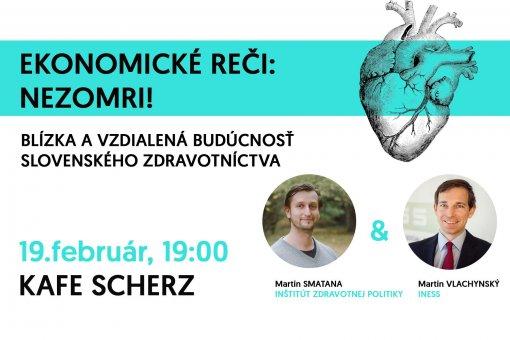 Ekonomické reči: Nezomri! Budúcnosť slovenského zdravotníctva