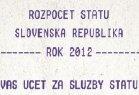 Účet za služby štátu 2012