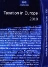 Kniha Taxation in Europe 2010 dostupná v INESS