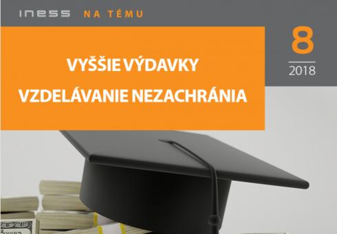 INT 8/ Vyššie výdavky vzdelávanie nezachránia