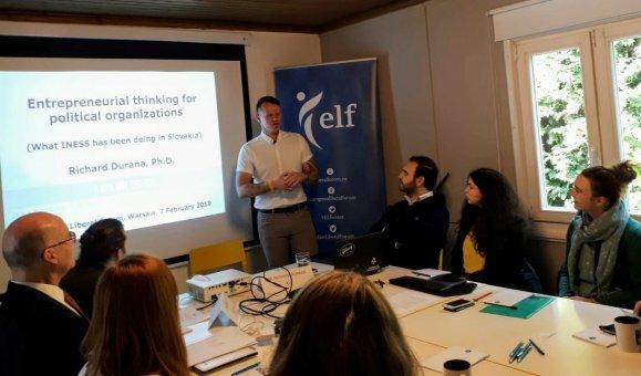 INESS na podujatí Liberal Impact Network vo Varšave