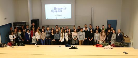 Krajské kolo Ekonomickej olympiády v Žiline