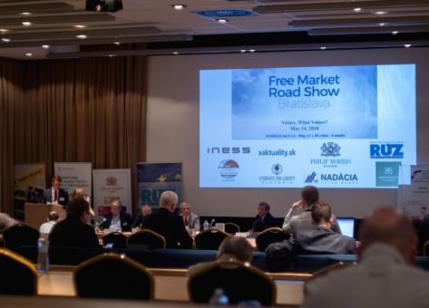 Free Market Road Show 2018 in Bratislava