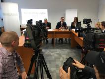 Predstavenie Byrokratického indexu novinárom