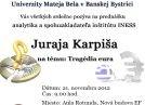 Tragédia eura v Banskej Bystrici