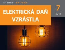 INT 7/2018: Elektrická daň vzrástla